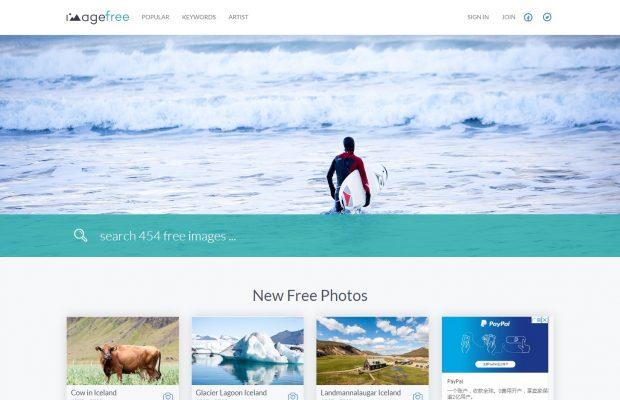 imagefree 网站截图